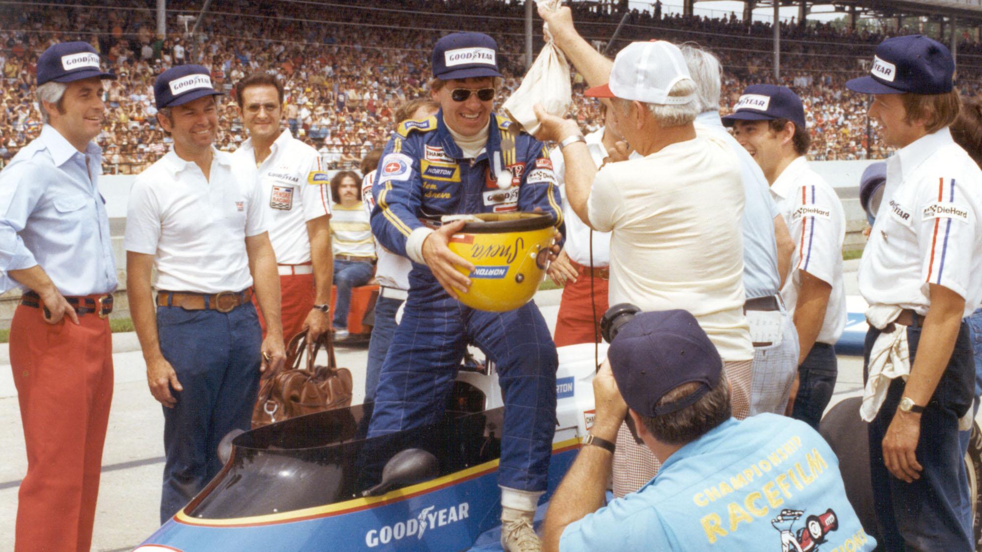 Tom Sneva 1977 Indy 500
