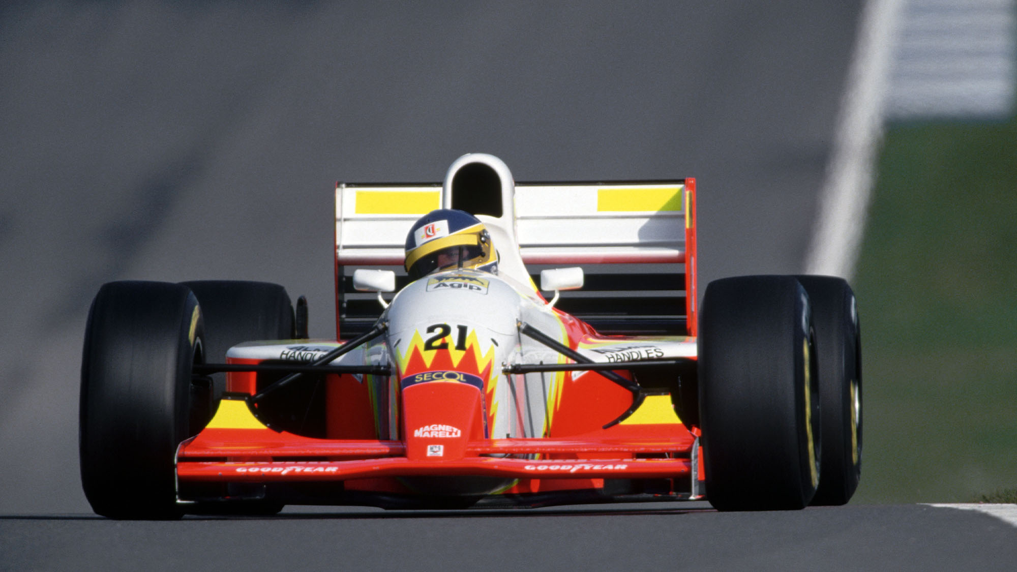 Alboretto Driving for Lola Ferrari (Photo by Jerome Prevost/TempSport/Corbis/VCG via Getty Images)