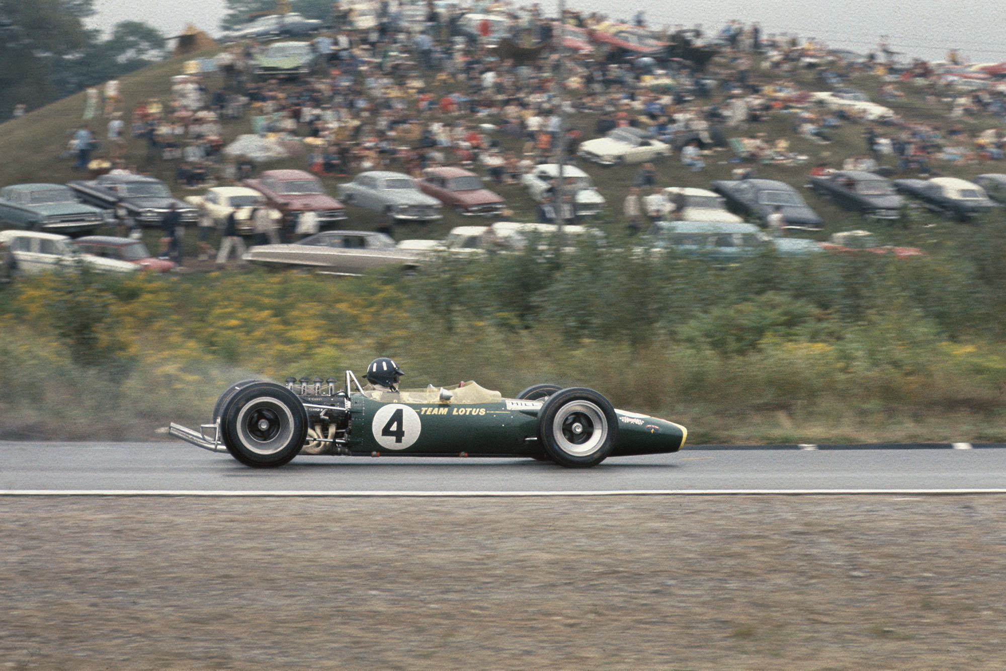 Graham Hill (Lotus 49 Ford)