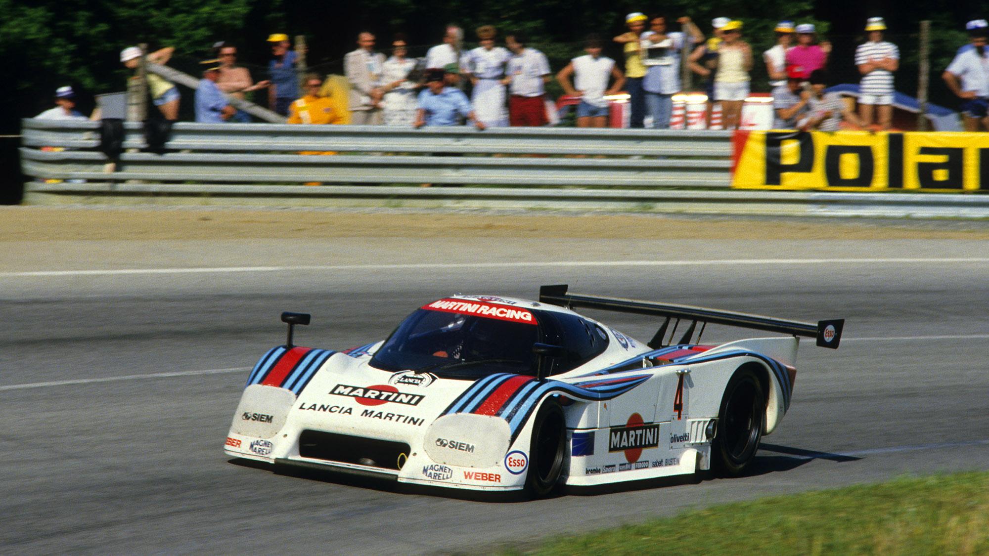 Bob Wollek Alessandro Nannini Lancia at the 1984 Le Mans 24 Hours