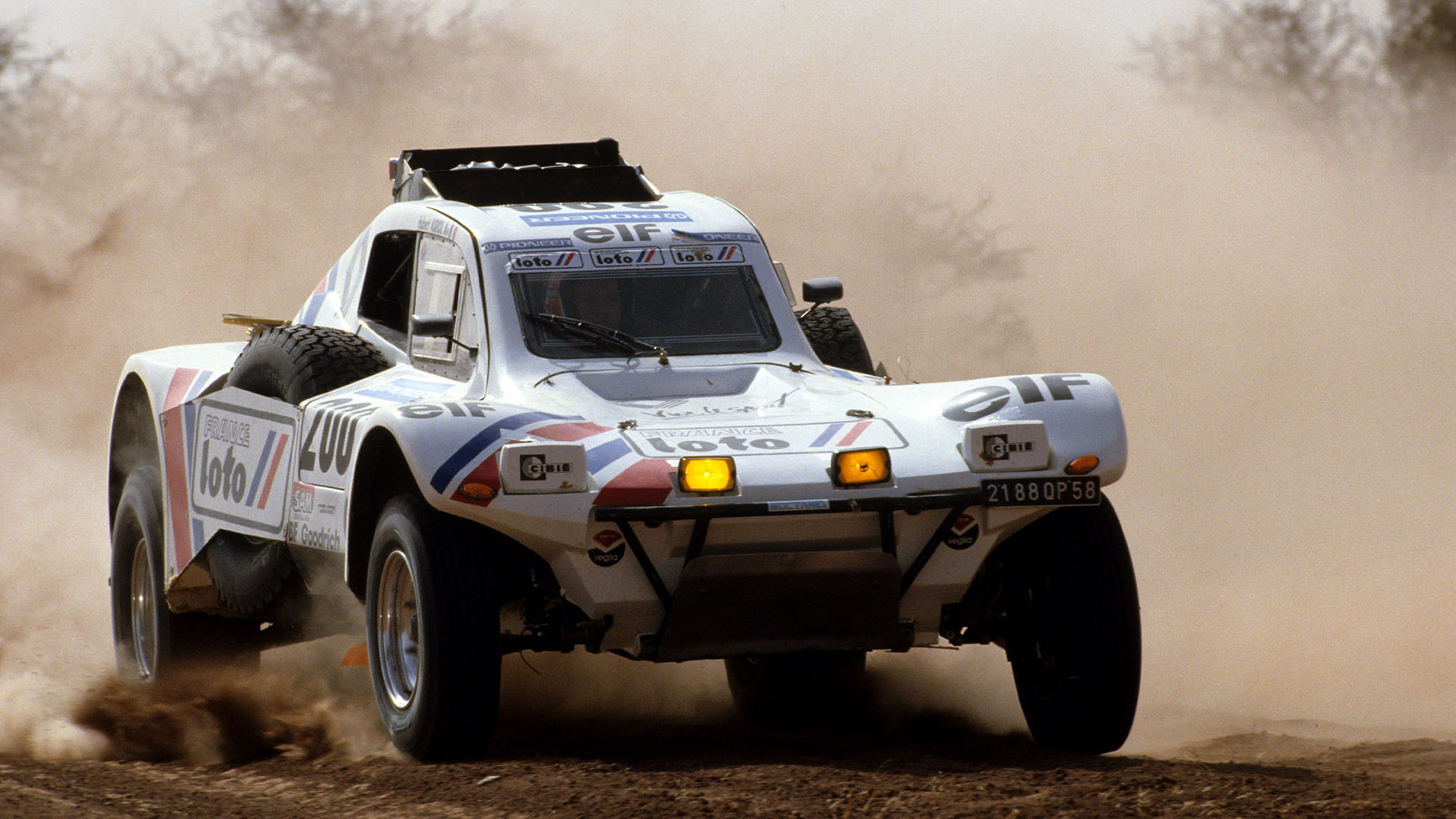 Auriol Peugeot 1989
