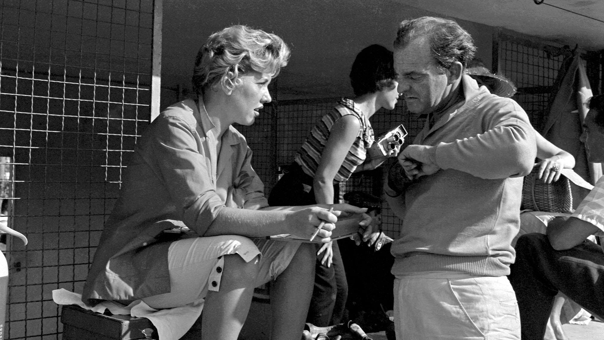 Harry Schell Monza 1958
