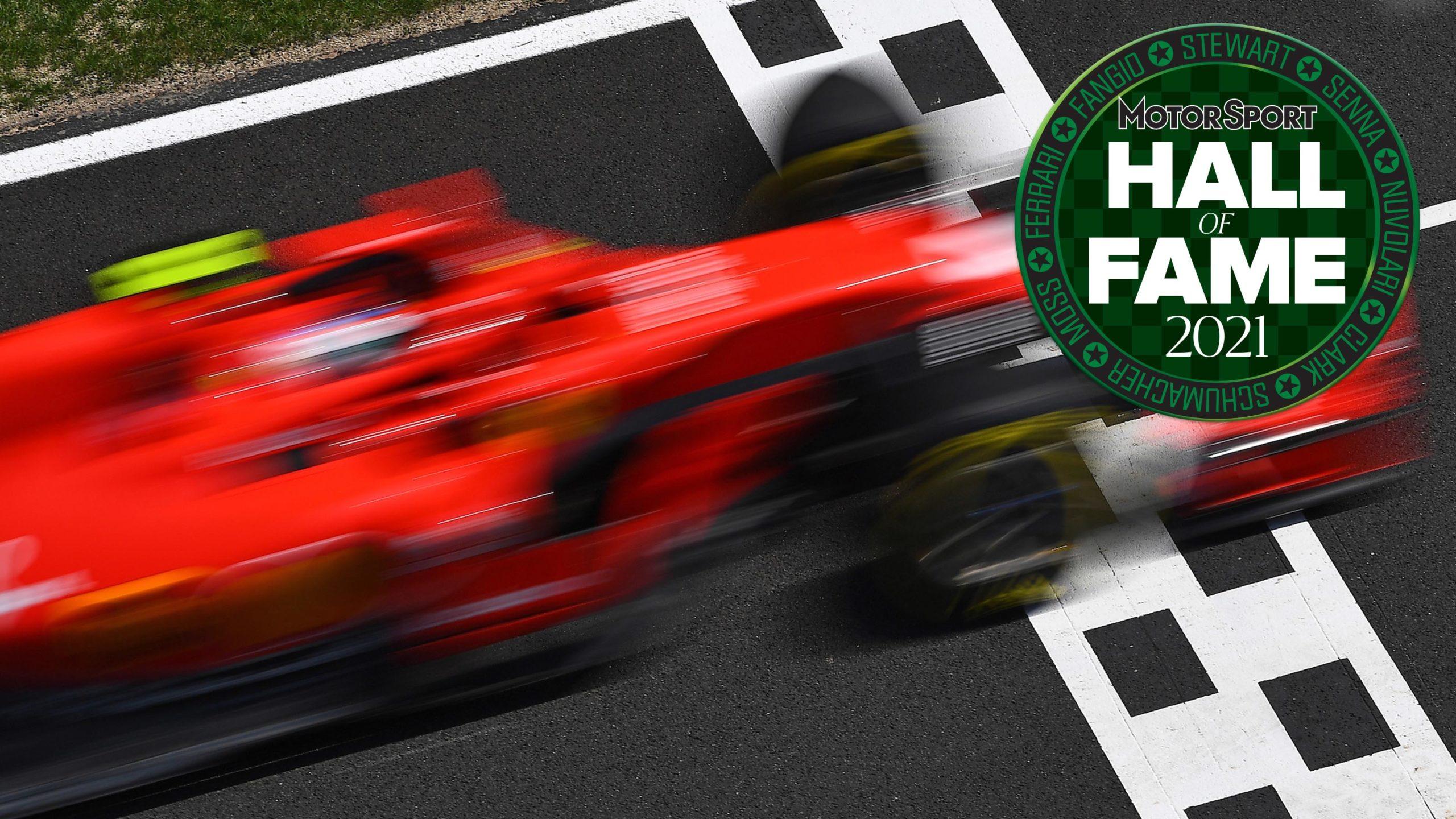 Hall of Fame F1 header