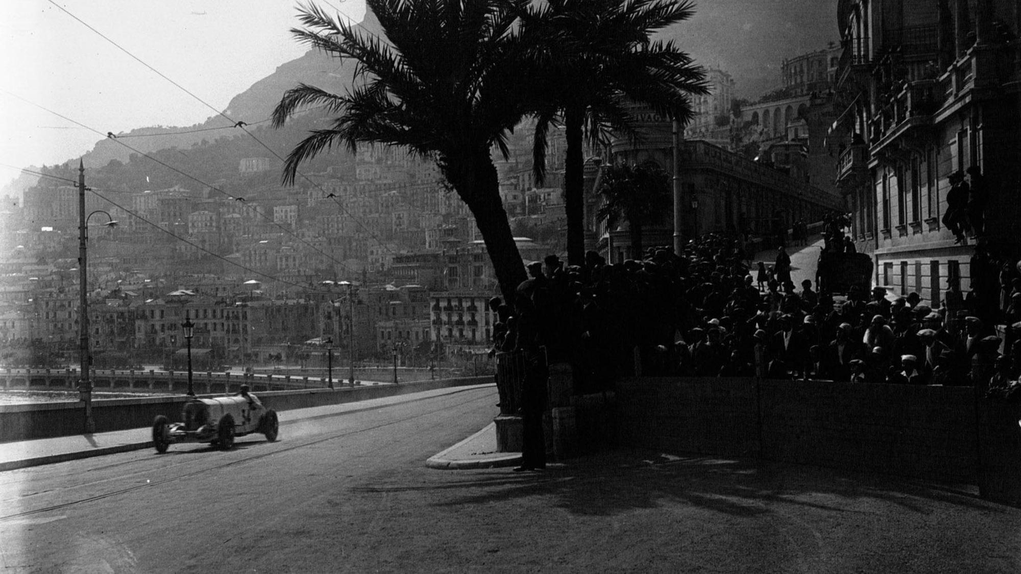 Rudolf Caracciola at the 1929 Monaco Grand Prix