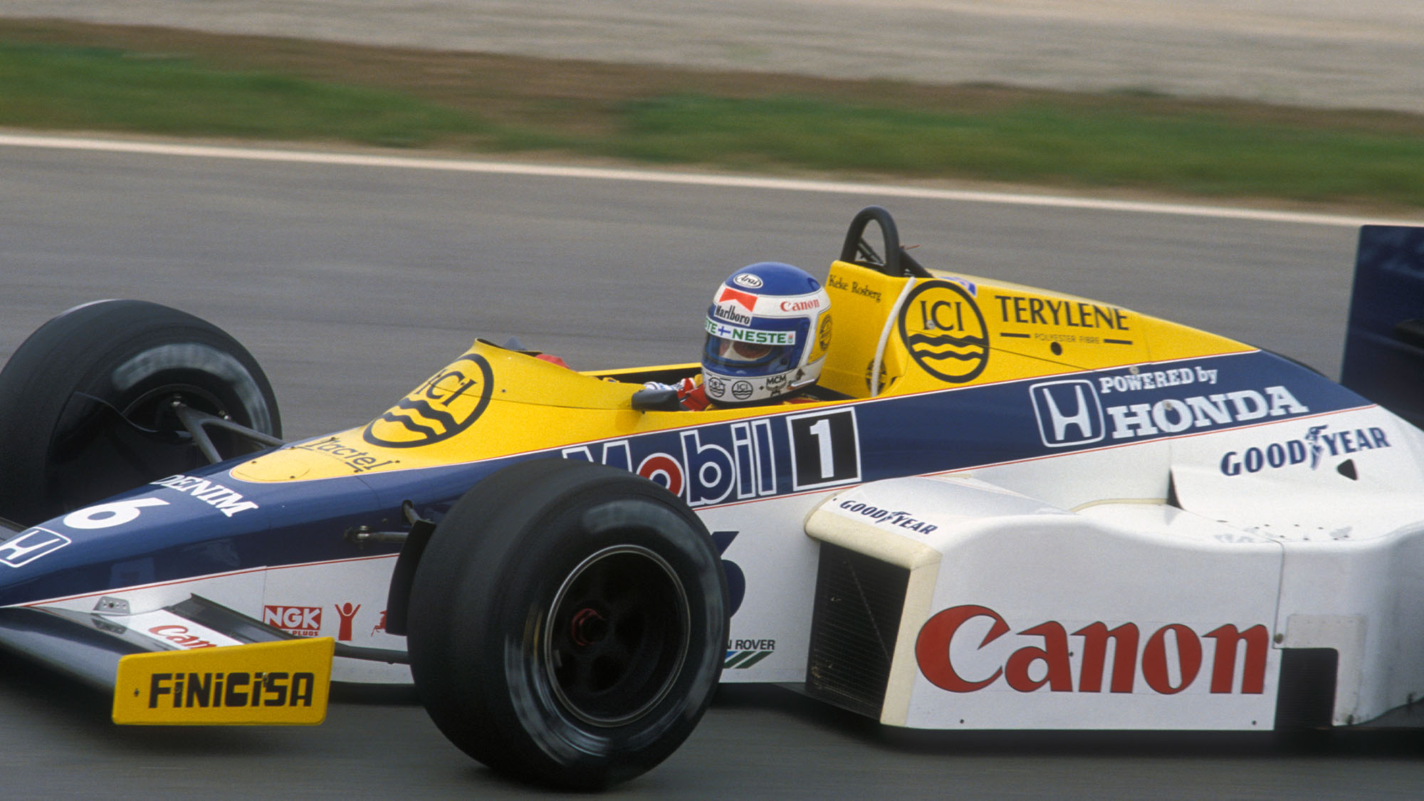 Keke Rosberg France 85