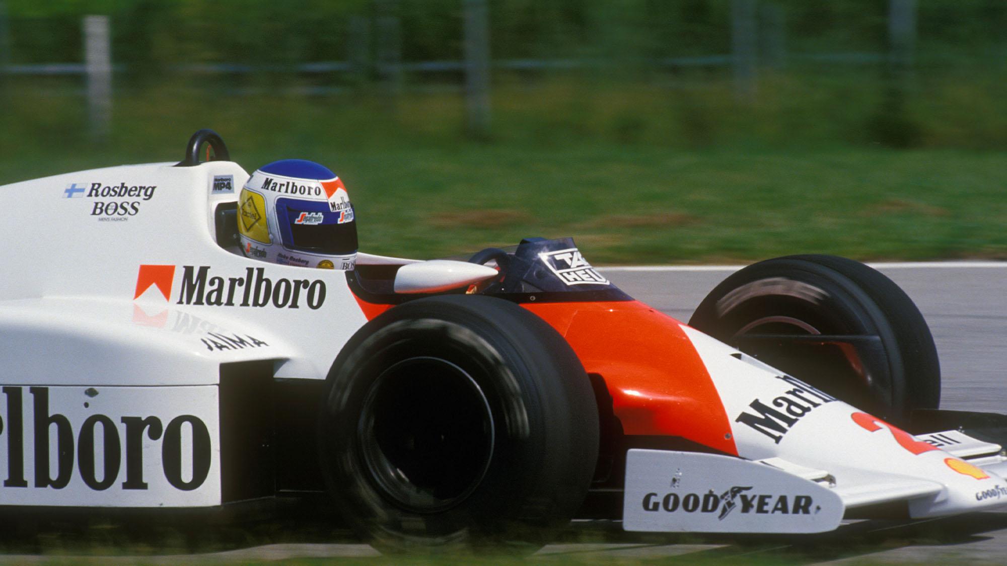 Rosberg McLaren 86 Brazil