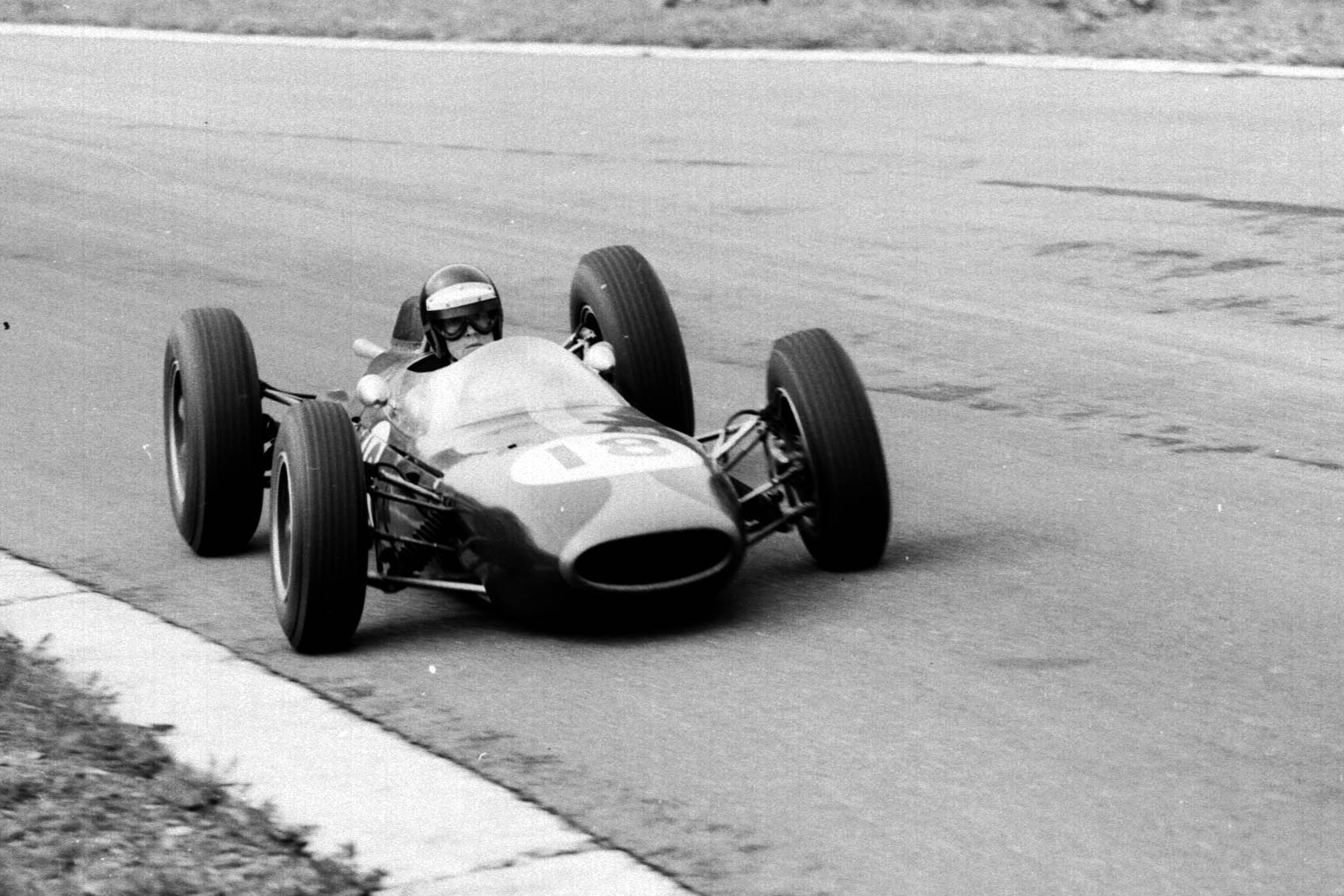 Dan Gurney in his Brabham BT7 Climax.