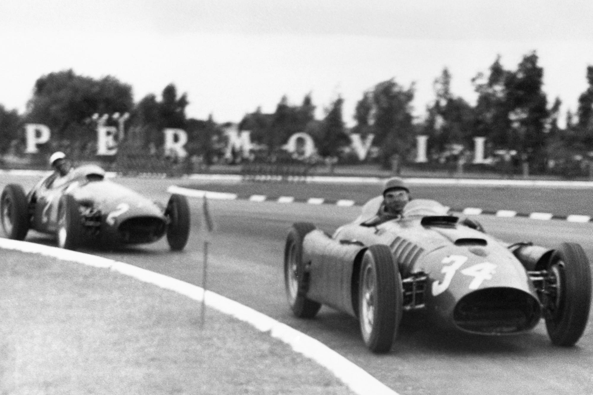Musso 1956 Argentine GP