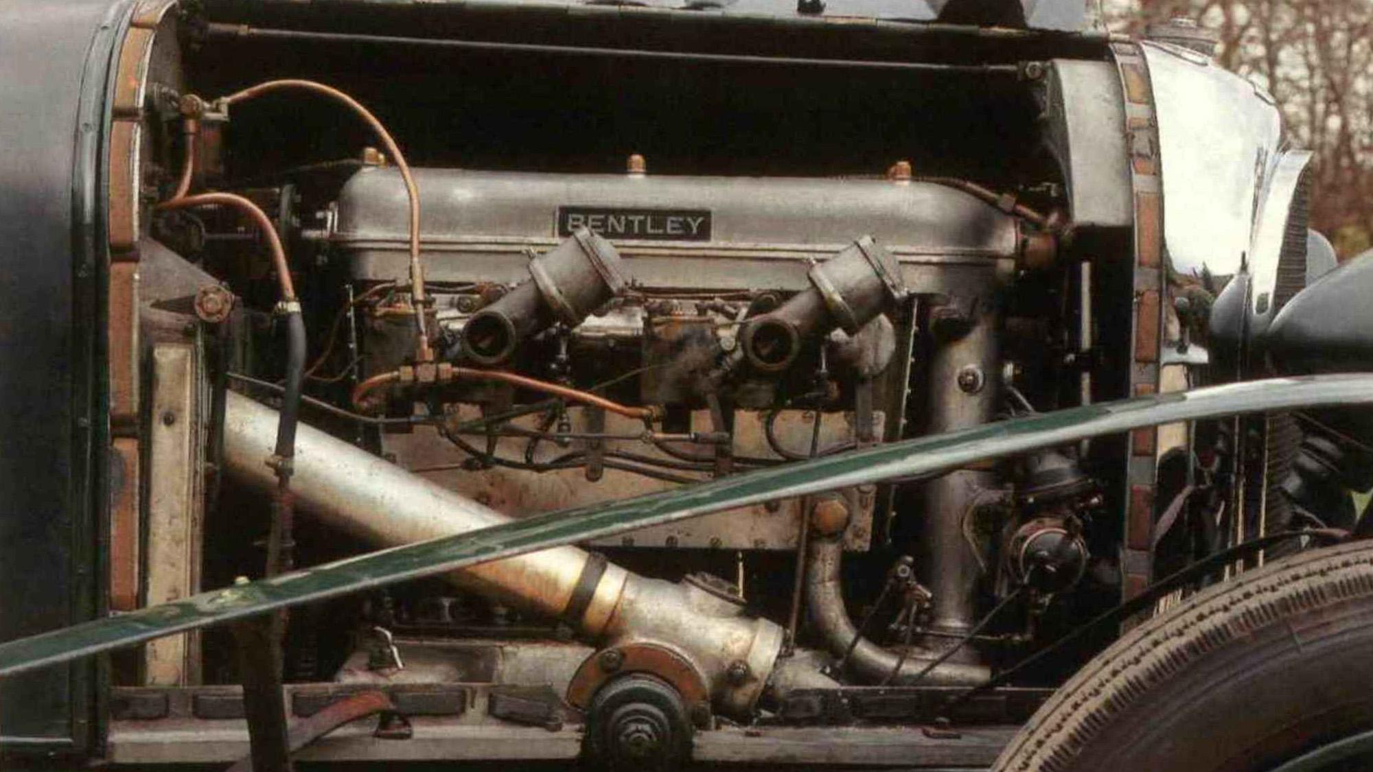 Bentley 3-litre engine
