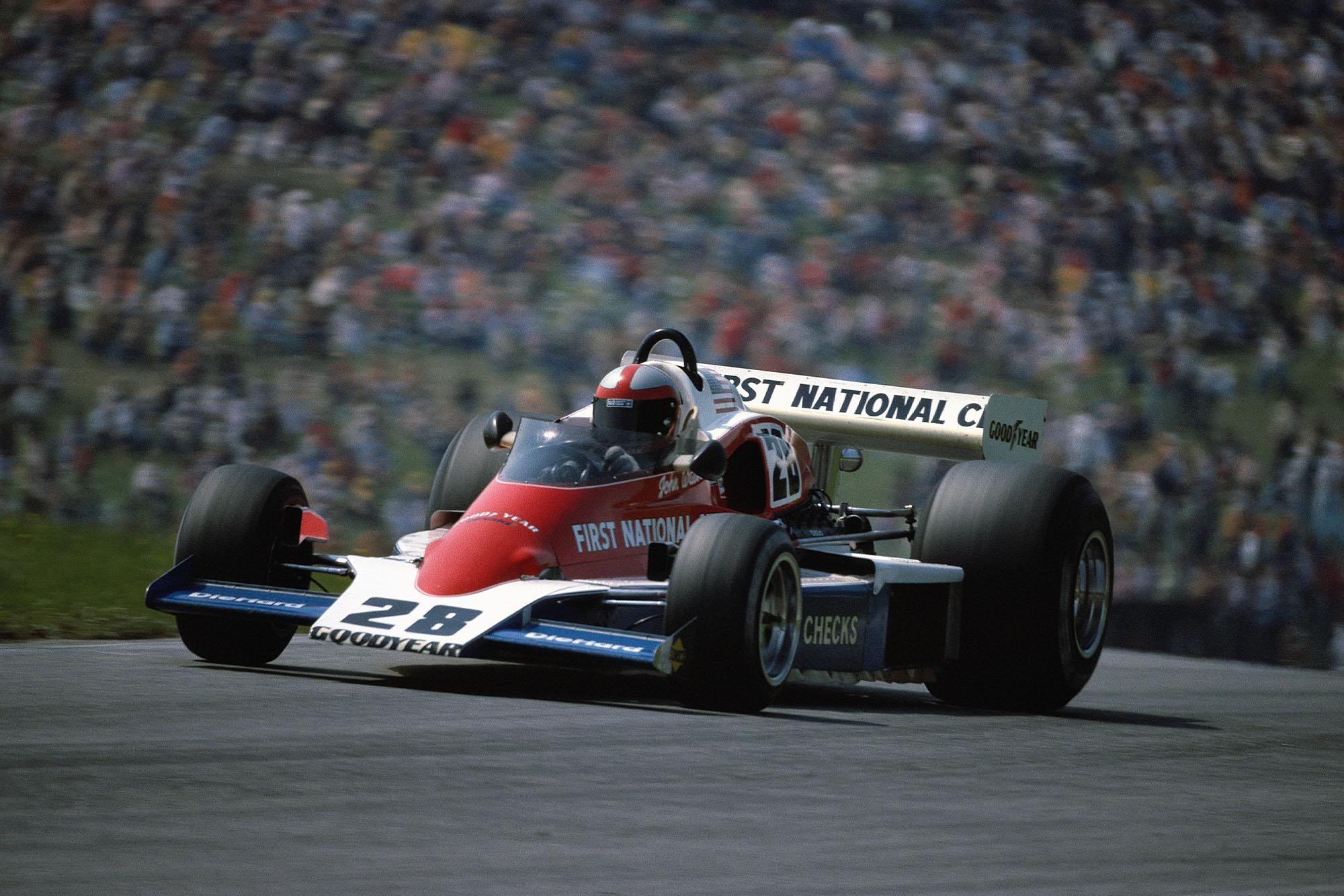 John Watson (Penske) at the 1976 Austrian Grand Prix, Österreichring.