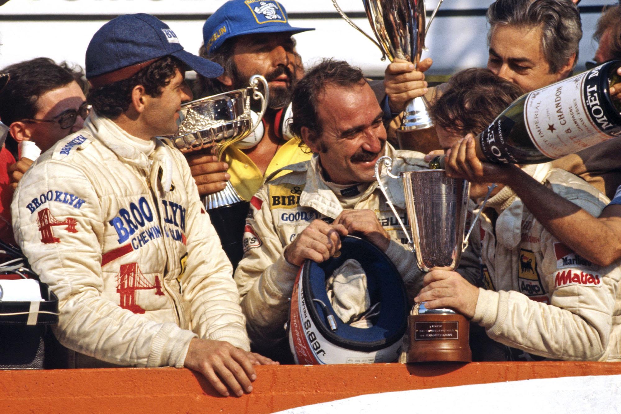 1979 Italian GP podium