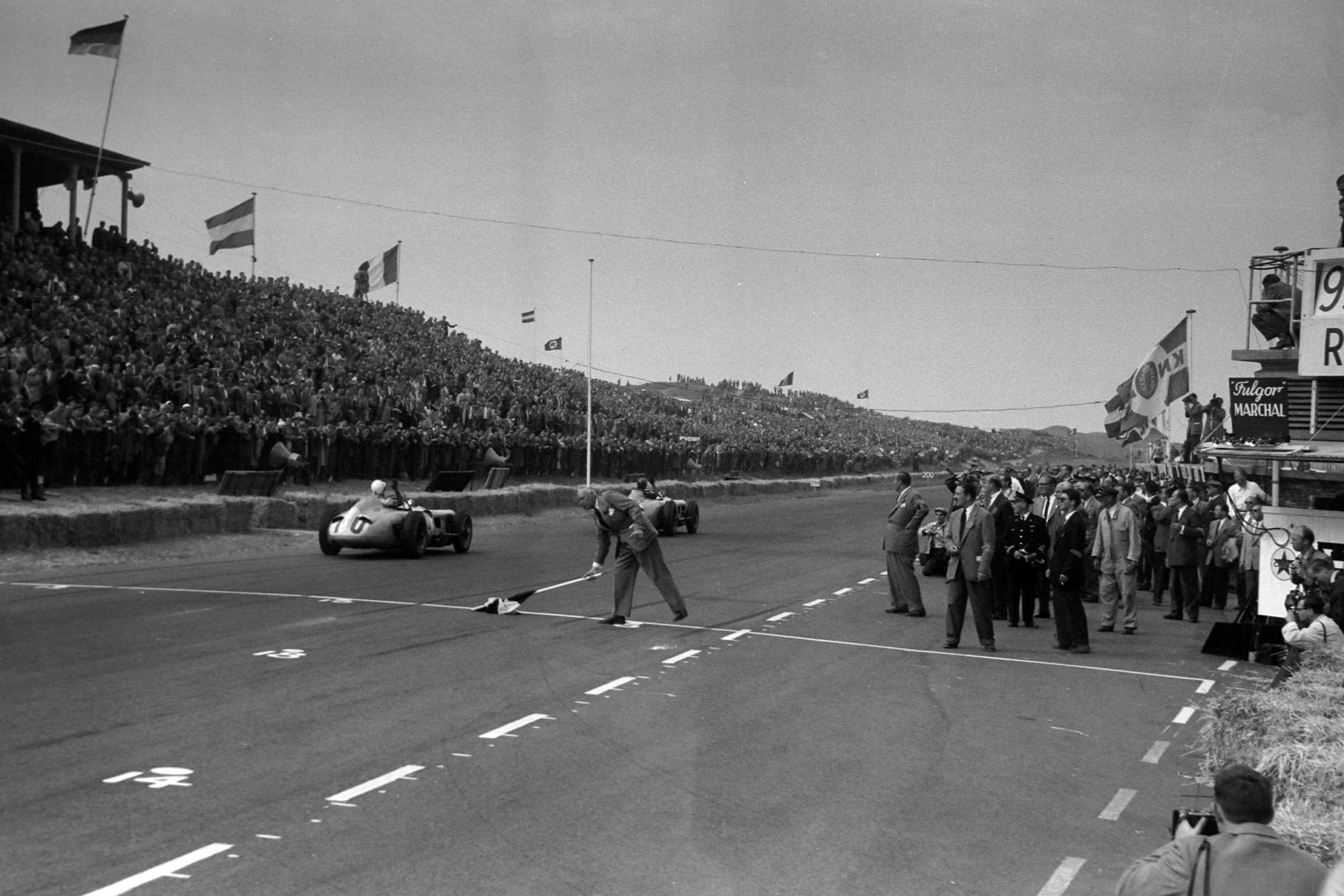 Fangio takes the win