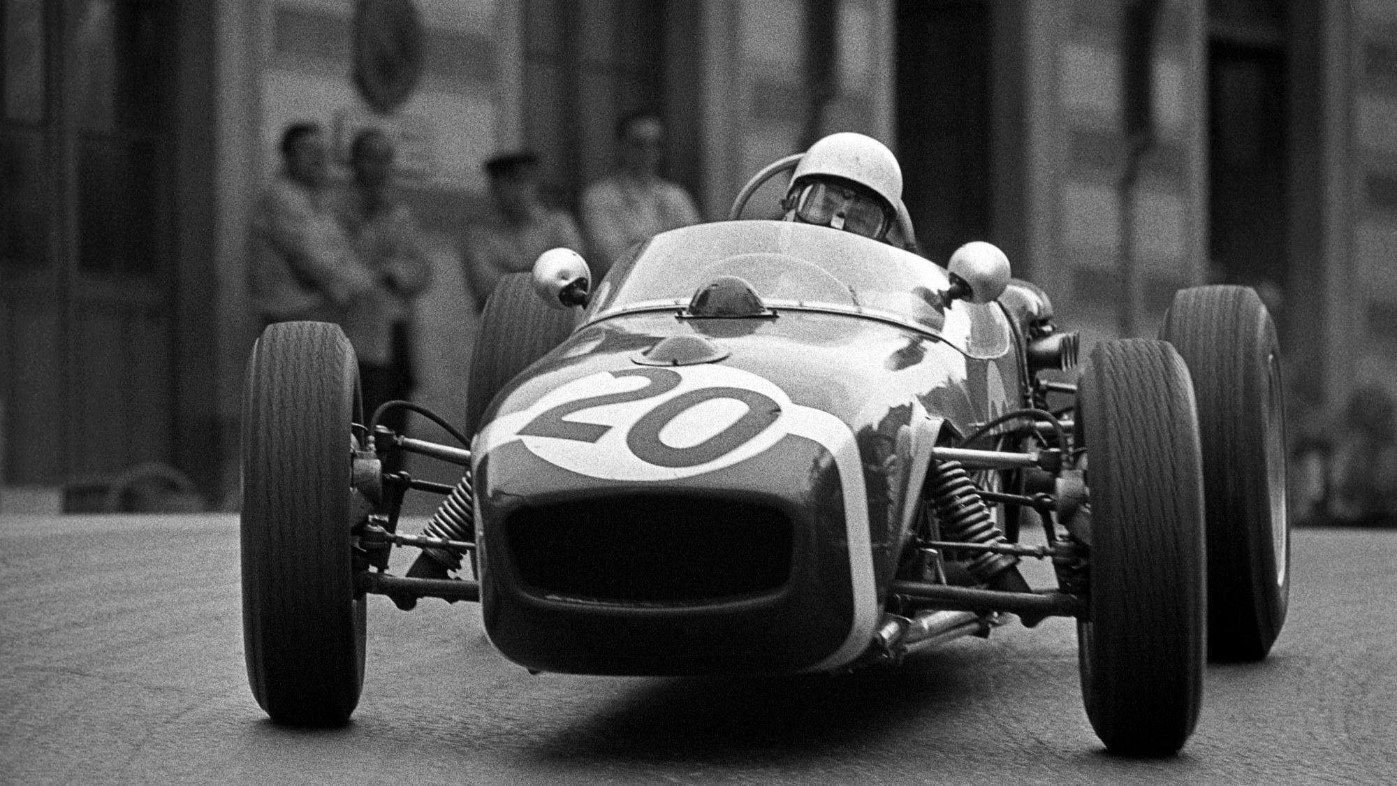 Stirling MOss, 1961 Monaco GP