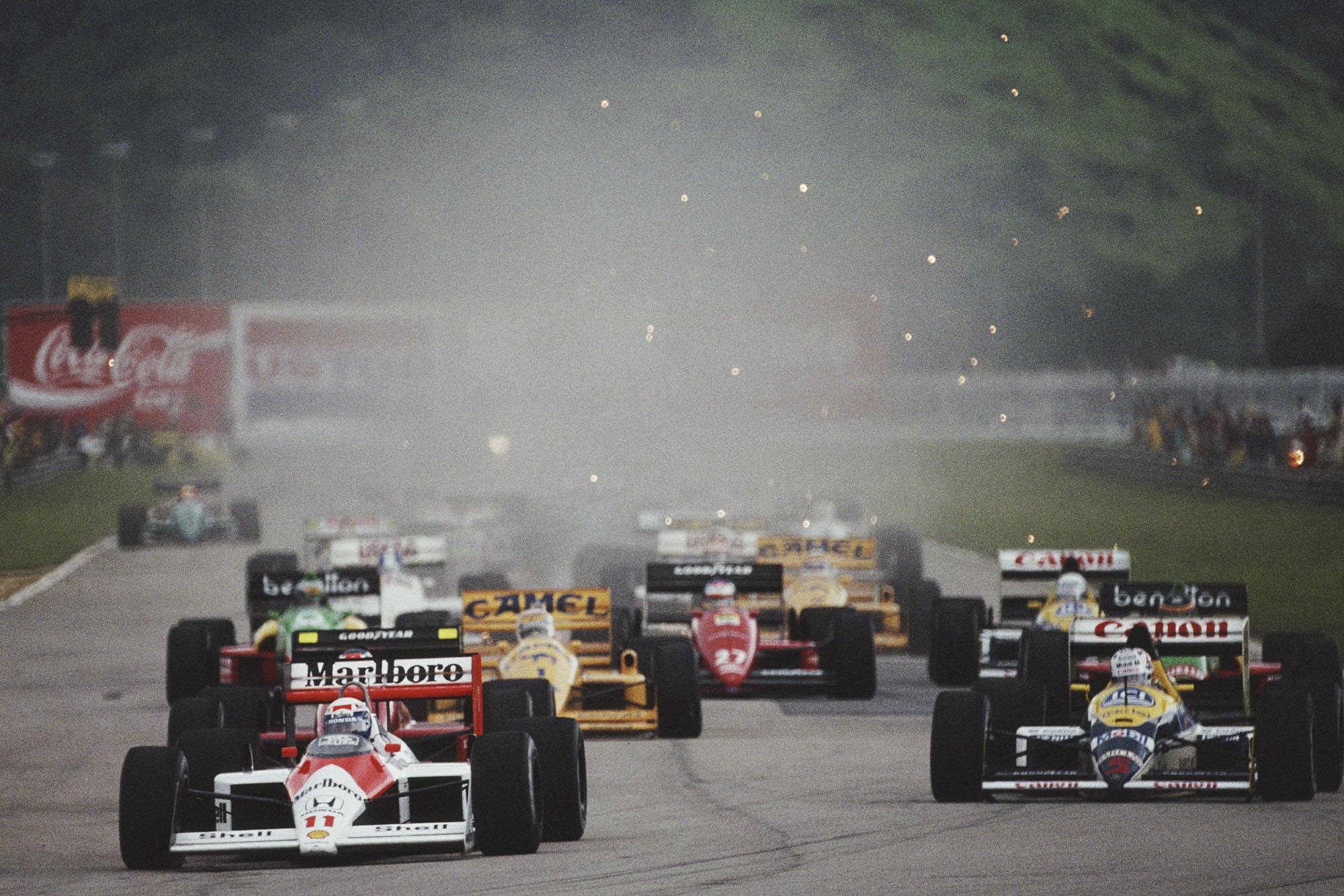 1988 BRA GP start