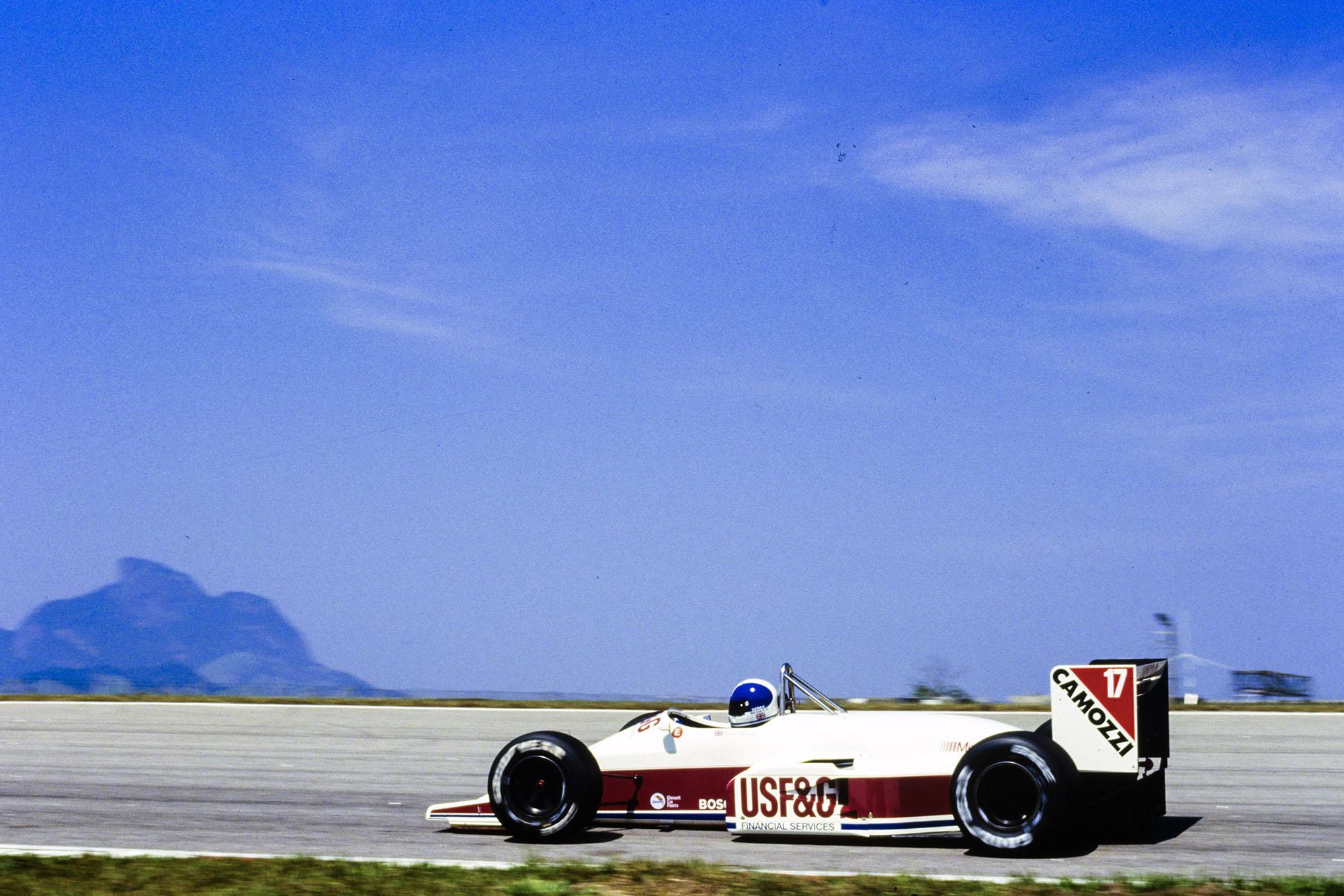 1988 BRA GP Warwick4th