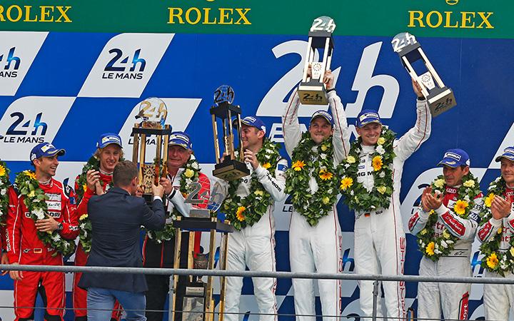 Porsche wins Le Mans