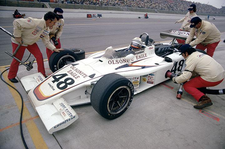 Great racing cars: 1972 AAR Eagle