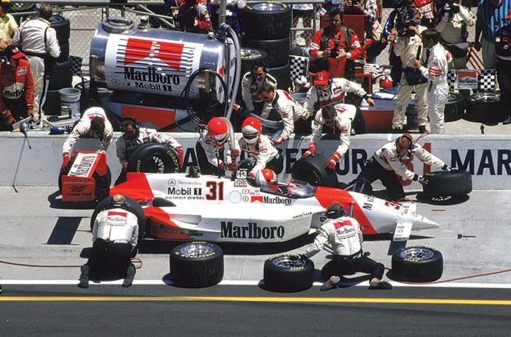 Great racing cars: 1994 Penske-Mercedes PC23 500i