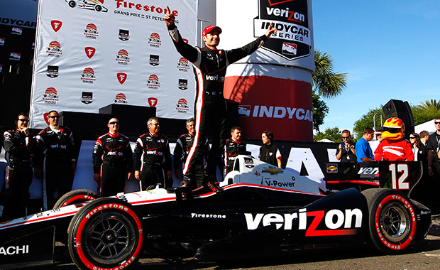 Will Power dominates IndyCar opener