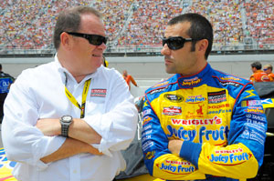 Franchitti to replace Wheldon in Ganassi's '09 IndyCar team