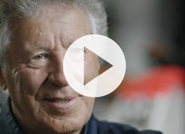 Mario Andretti on his first racer