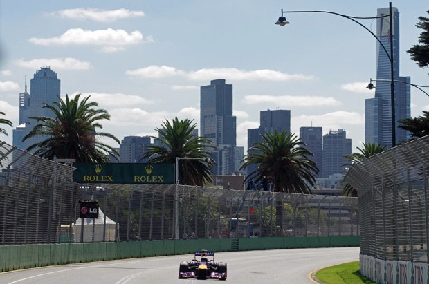 Australian Grand Prix – day one