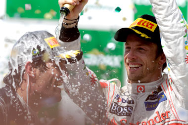 Jenson Button on battling Webber