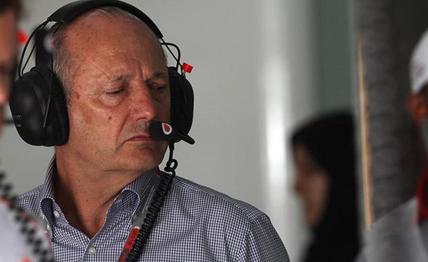 Defiant Ron Dennis back in Formula 1