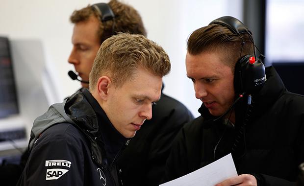 Kevin Magnussen impressing McLaren