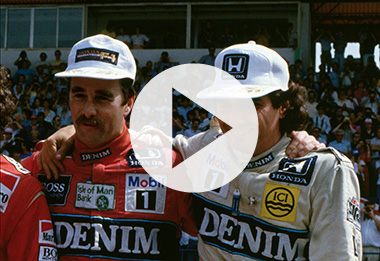 Another round of Mansell vs Piquet