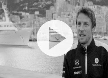 Hamilton and Button on Monaco