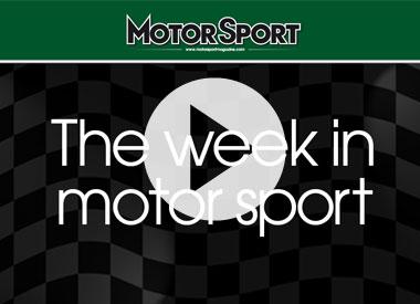 The week in motor sport (03/05/2011)