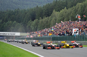 When Spa casts its spell…