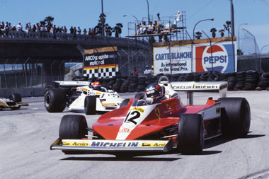Gilles Villeneuve at Long Beach