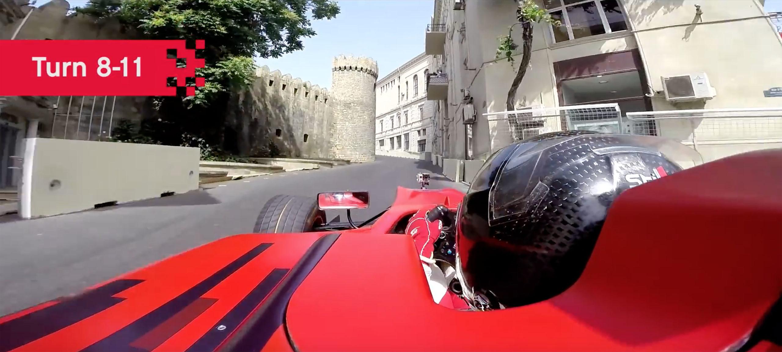 Baku: F1's latest left-handed circuit