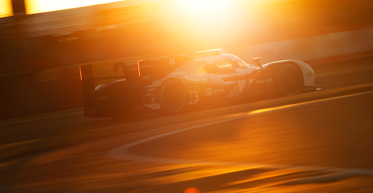 How do you get through the 24 Hours of Le Mans?