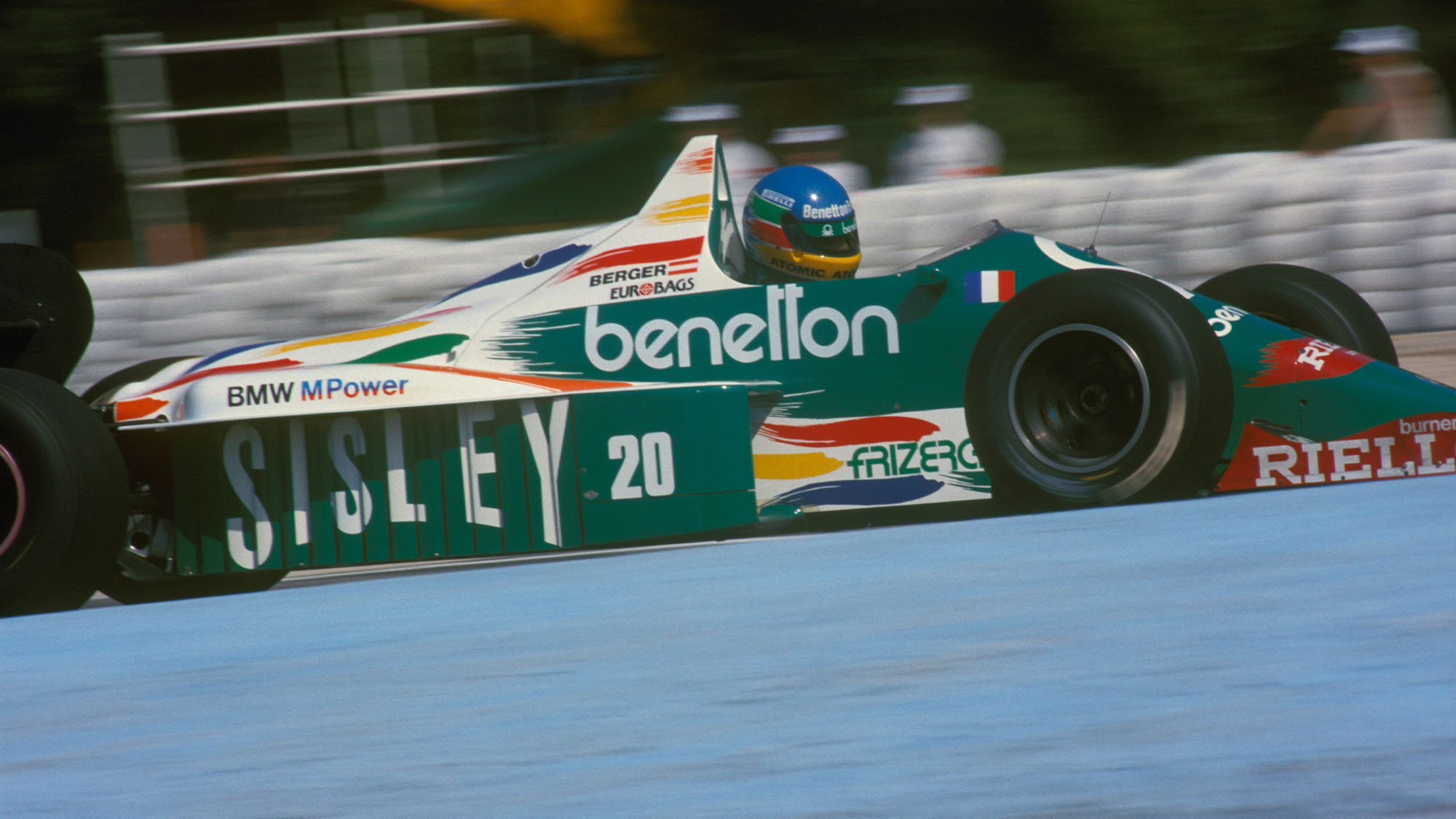 Gerhard Berger Benetton 1986 1