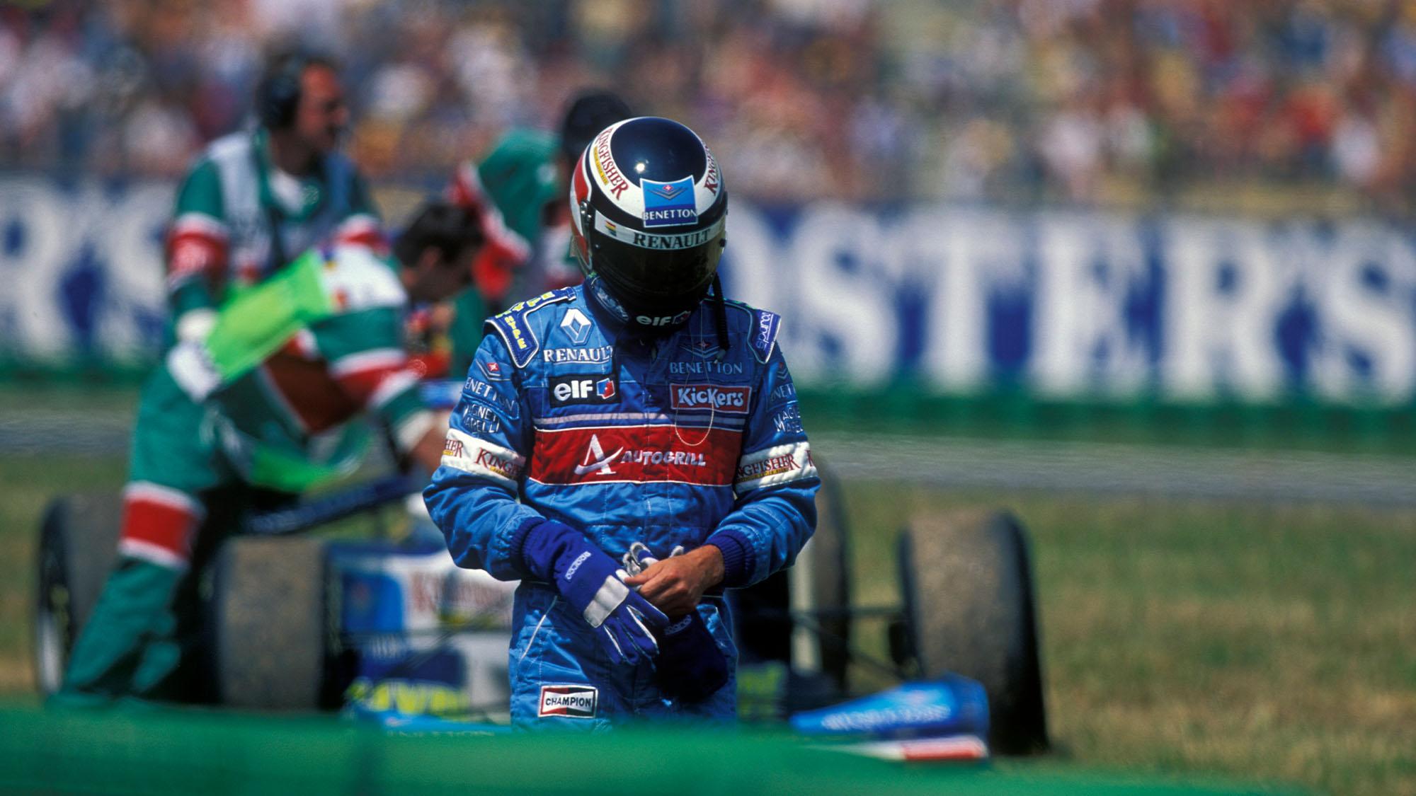 1996 Gerhard Berger Benetton