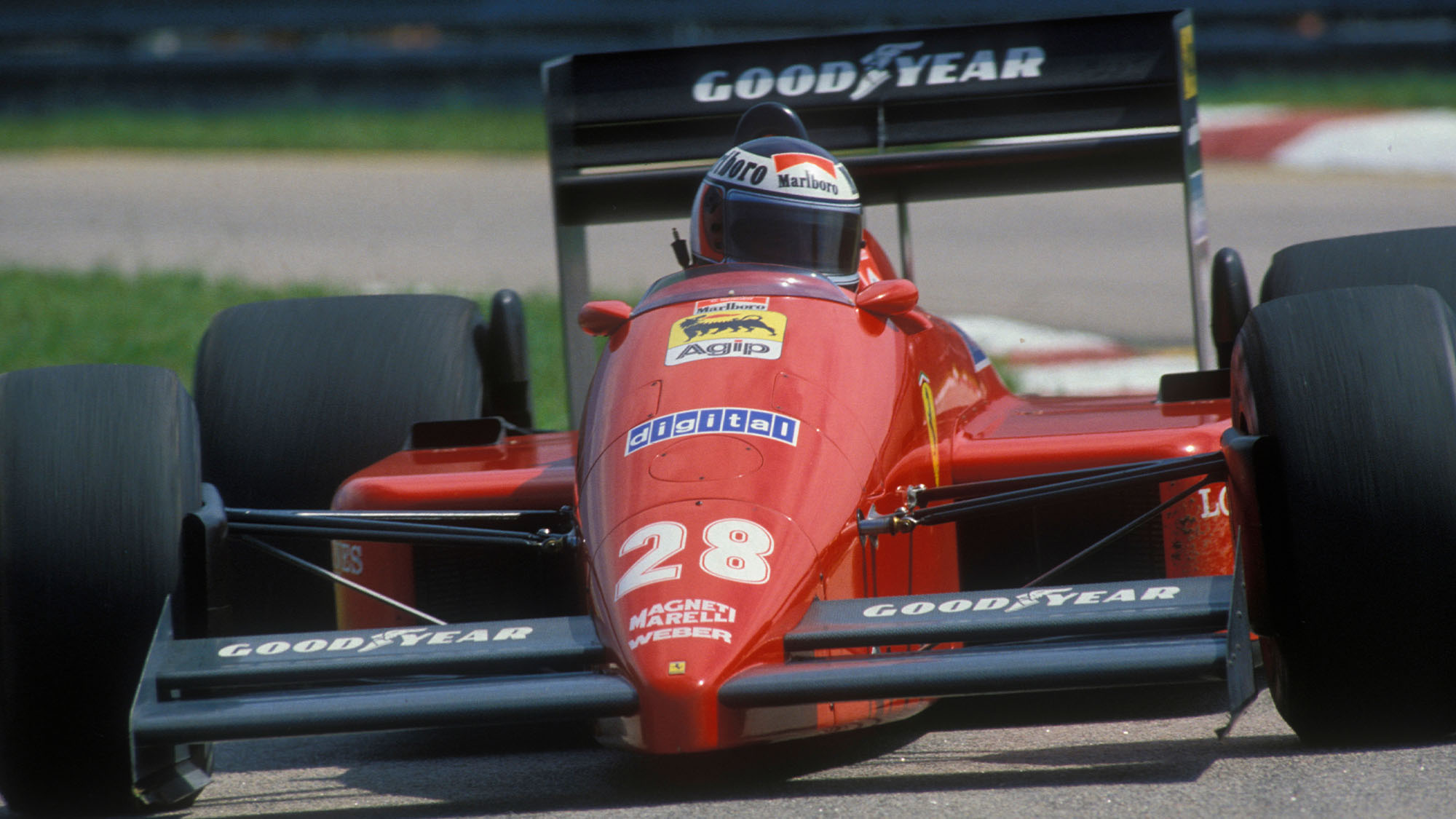 Gerhard Berger Ferrari 1987