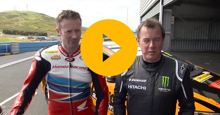 Watch: Superbike v BTCC at Knockhill