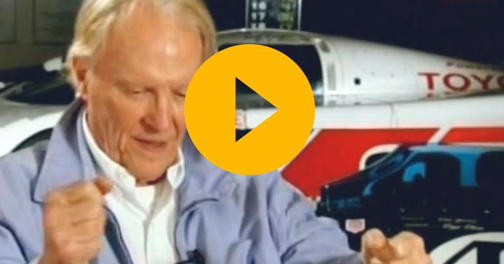 Dan Gurney on his Spa victory
