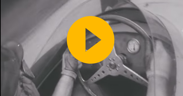Onboard with Fangio at Modena