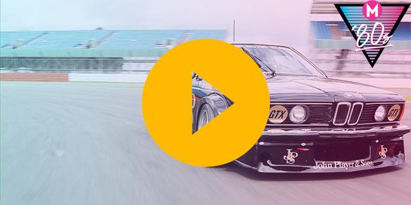 '80s month: Driving the JPS BMW 635 CSi