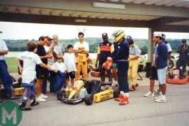 Ayrton Senna's kart at auction