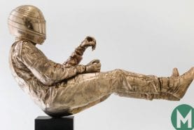 That life-size bronze Senna statue costs £200k