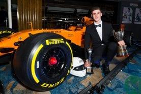 Young driver award continues despite McLaren pullout