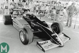 The curious case of an F1 car that never raced
