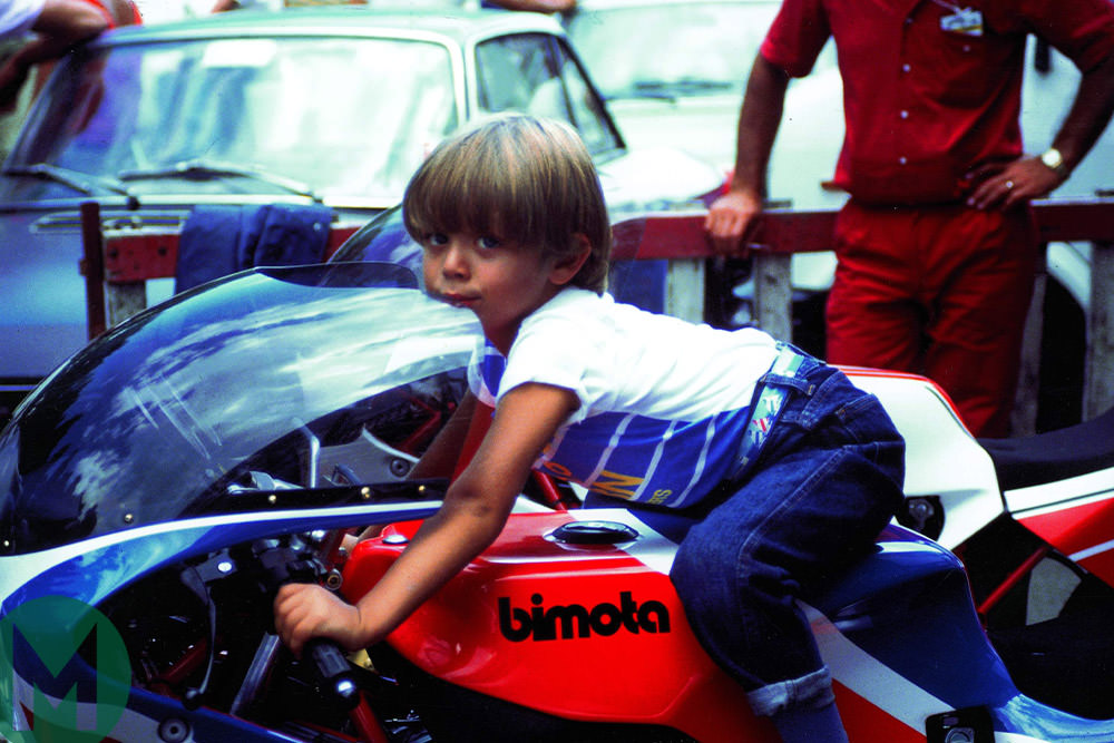 Valentino Rossi child
