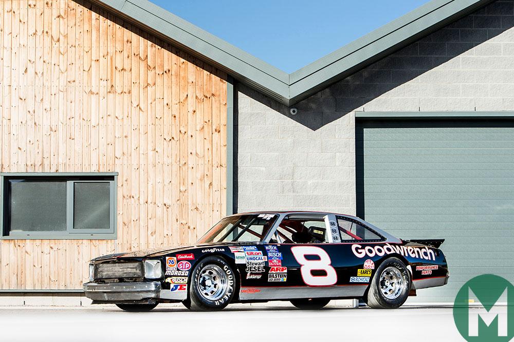 Dale Earnhardt 1977 Chevrolet Nova for auction