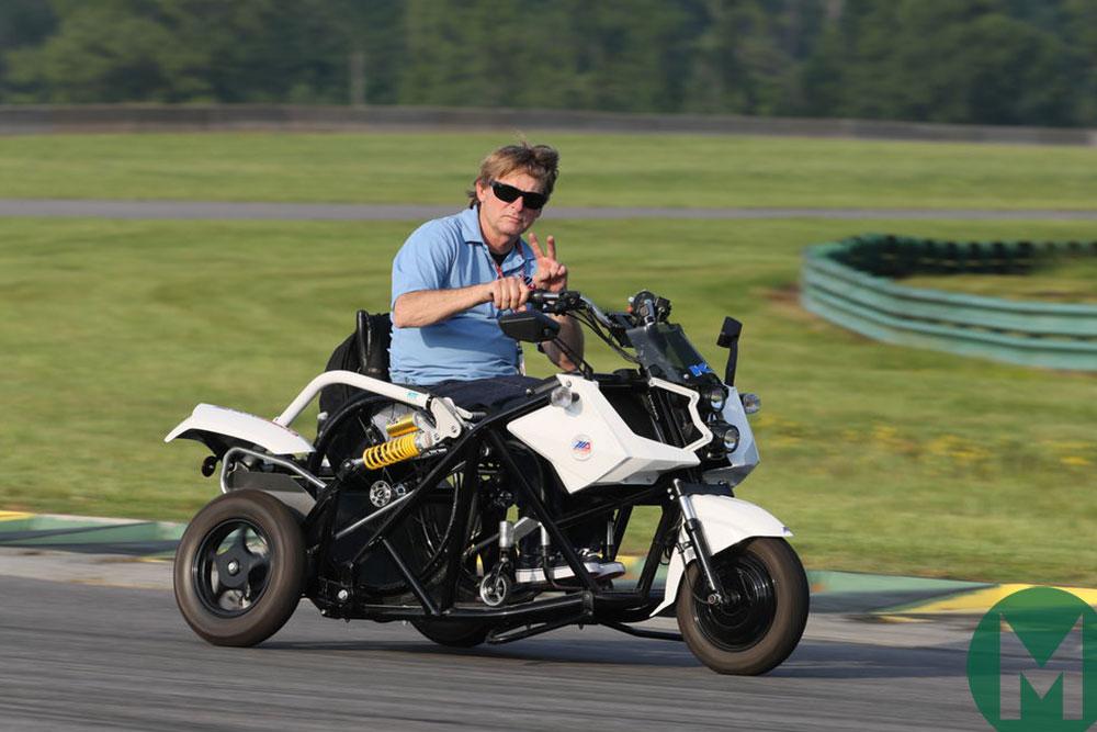 MotoAmerica president Wayne Rainey